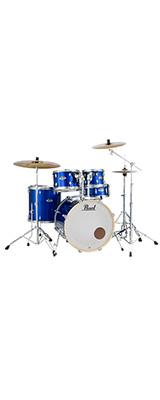 Pearl(パール) / EXPORT EXX Covering シンバル付ドラムフルセット 【EXX725S/C #717(ハイボルテージブルー)】 -  ドラムセット - 1大特典セット