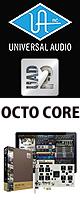 UAD-2 OCTO CORE / Universal Audio(ユニバーサルオーディオ) - PCIeタイプ DSPプラグイン -