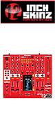 12inch SKINZ / Pioneer DJM-2000 SKINZ (RED) - 【DJM-2000用スキン】