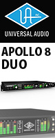 Universal Audio(ユニバーサルオーディオ) / APOLLO 8 DUO - Thunderbolt接続オーディオ・インターフェース - 【期間&数量限定価格 9月15日(土)迄】 1大特典セット