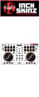 12inch SKINZ / Numark Mixtrack Pro 2 Skinz (White/Black) 【Mixtrack Pro 2用スキン】