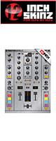 12inch SKINZ / Native Instruments TRAKTOR KONTROL Z2 Skinz Metallics (Brushed Silver) 【Z2 用スキン】