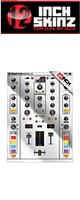 12inch SKINZ / Native Instruments TRAKTOR KONTROL Z2 Skinz Metallics (Mirror Silver) 【Z2 用スキン】