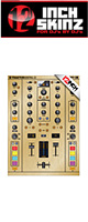 12inch SKINZ / Native Instruments TRAKTOR KONTROL Z2 Skinz Metallics (Brushed Gold) 【Z2 用スキン】