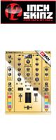 12inch SKINZ / Native Instruments TRAKTOR KONTROL Z2 Skinz Metallics (Mirror Gold) 【Z2 用スキン】