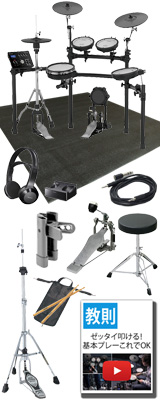 【SONYワイヤレスヘッドホンセット】 Roland(ローランド) / TD-25K-S 電子ドラム エレドラ Vdums Vドラム 10大特典セット