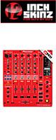 ■ご予約受付■ 12inch SKINZ / Pioneer DJM-900NXS SKINZ (RED) - 【DJM-900NXS用スキン】
