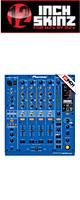 ■ご予約受付■ 12inch SKINZ / Pioneer DJM-900NXS SKINZ (BLUE) - 【DJM-900NXS用スキン】