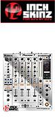 ■ご予約受付■ 12inch SKINZ / Pioneer DJM-900NXS SKINZ Metallics (Mirror Silver) - 【DJM-900NXS用スキン】