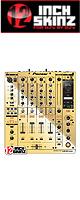 ■ご予約受付■ 12inch SKINZ / Pioneer DJM-900NXS SKINZ Metallics (Mirror Gold) - 【DJM-900NXS用スキン】