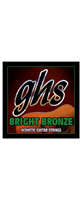ghs(ガス) /12-String Bright Bronze 80/20 Copper Zinc BB60X - アコギ弦  Extra Light 12弦-  【.009-42】