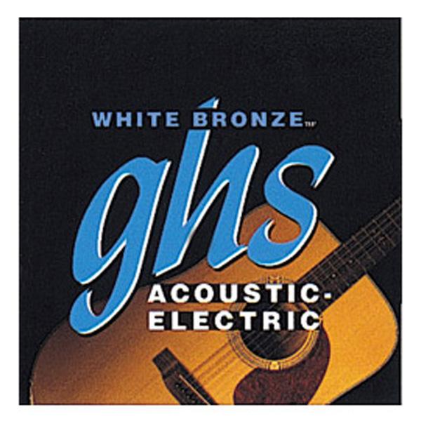ghs(ガス) / White Bronze Alloy 52  WB-L - アコギ弦 - Light  【.012-54】