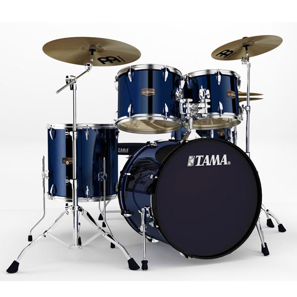 """【基本セット】TAMA(タマ) / インペリアルスター IP52H6HC-MNB (ミッドナイト・ブルー)  【IMPERIALSTAR 22""""バスドラムキット】- ドラムセット -"""