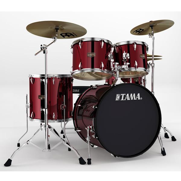 """【基本セット】TAMA(タマ) / インペリアルスター IP52H6HC-VTR (ヴィンテージ・レッド)  【IMPERIALSTAR 22""""バスドラムキット】- ドラムセット -"""