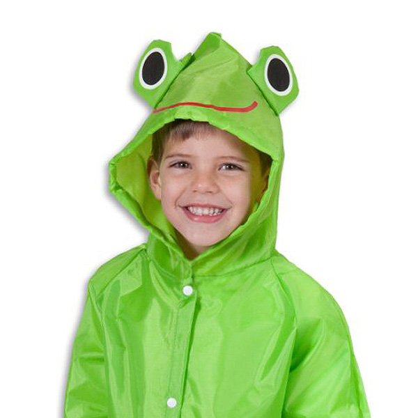Cloudnine Umbrellas / Froggy Raincoat - お子様用 カエルのレインコート -