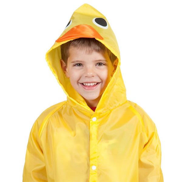 Cloudnine Umbrellas / Duck Raincoat - お子様用 アヒルのレインコート -