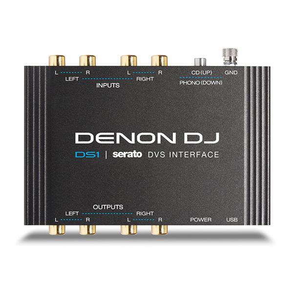 Denon(デノン) / DS1 - Serato DJ DVS用オーディオインターフェイス ■限定セット内容■→ 【・ミックスCD作成KIT 】