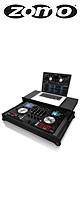 Zomo(ゾモ) / Flightcase NV Plus NSE 【Numark NV 対応】 - PCDJコントローラーケース -
