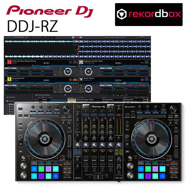 Pioneer(パイオニア) / DDJ-RZ 【REKORDBOX DJ 無償対応】リアルミキサー機能搭載 PCDJコントローラー