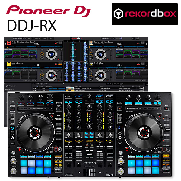Pioneer(パイオニア) / DDJ-RX 【REKORDBOX DJ 無償対応】リアルミキサー機能搭載 PCDJコントローラー