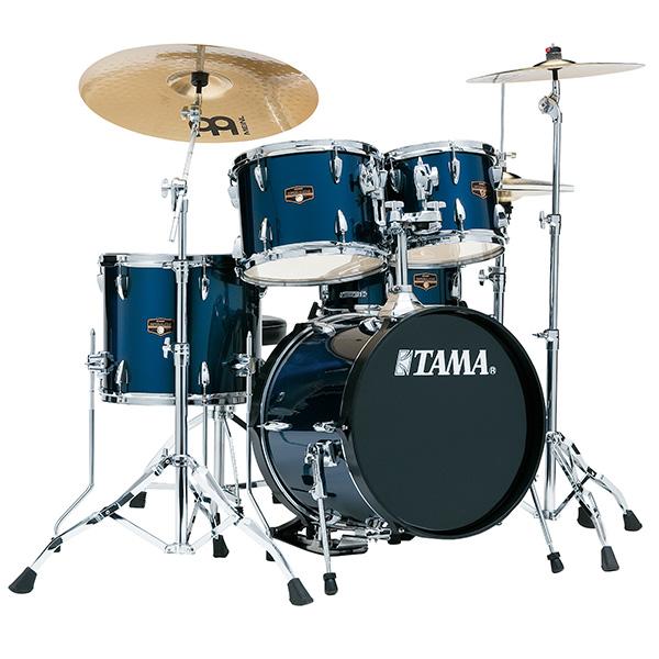 """【基本セット】TAMA(タマ) / IP58H6HC-MNB (ミッドナイト・ブルー)  【2018 IMPERIALSTAR 18""""バスドラムキット】- ドラムセット -"""
