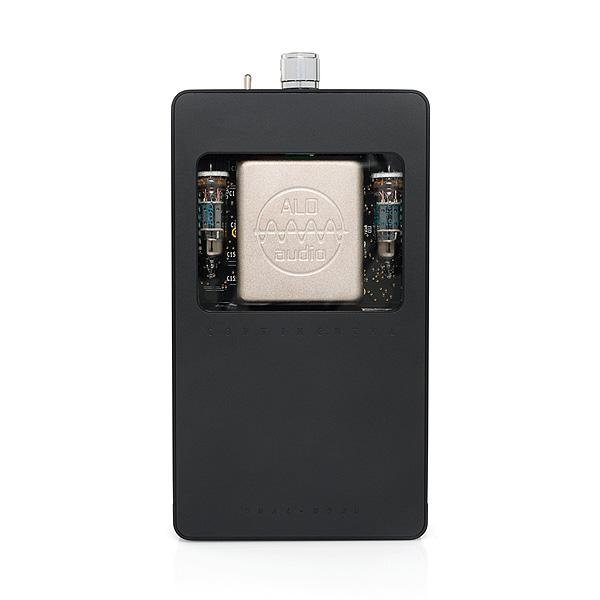 ALO Audio(エーエルオーオーディオ) / Continental Dual Mono (Black) - DAC搭載真空管ヘッドホンアンプ -