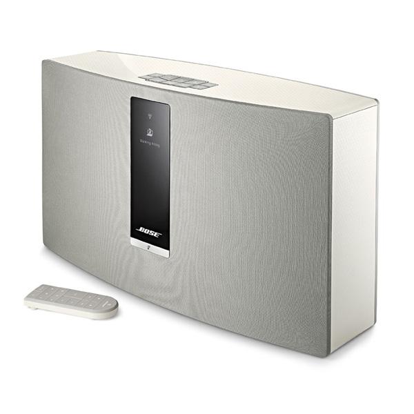 【限定1台】Bose(ボーズ) / SoundTouch 30 Series III wireless music system (White) - ワイヤレスミュージックシステム -【アウトレット品/液晶画面に問題有】『セール』『スピーカー』 1大特典セット