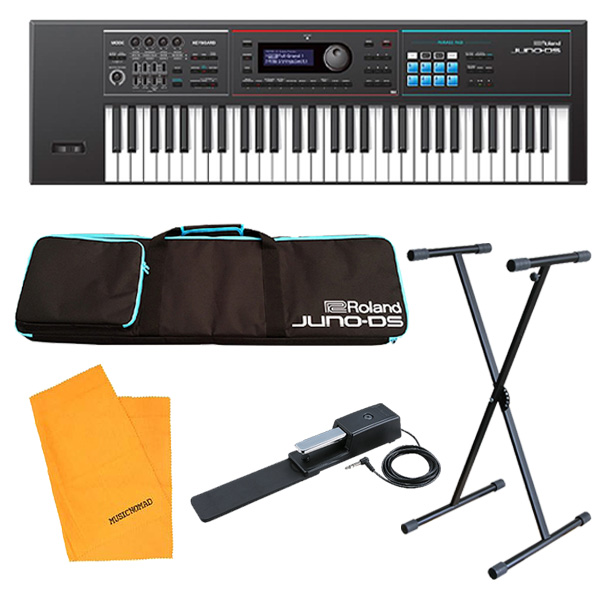 【オススメAセット】Roland(ローランド) / JUNO-DS61 - 61鍵 シンセサイザー  5大特典セット