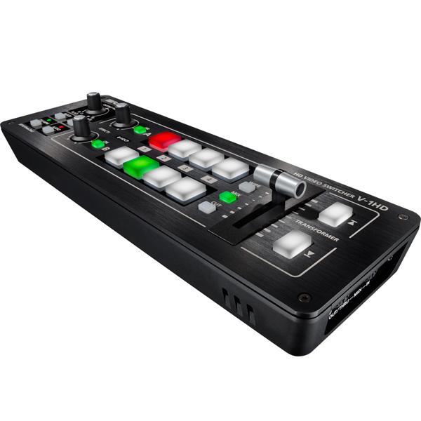 【タイムセール限定1台】Roland(ローランド) / V-1HD [ポータブルHDビデオミキサー]の商品レビュー評価はこちら