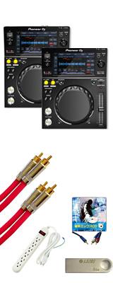 XDJ-700 2台 激安定番セット  5大特典セット