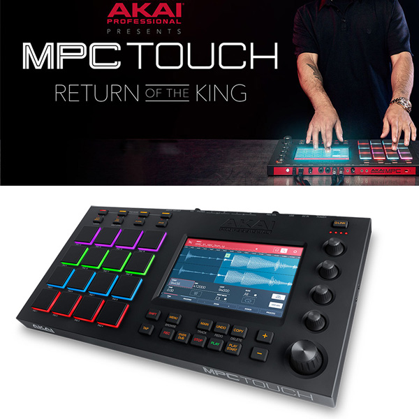 Akai(アカイ) / MPC TOUCH 【MPC SOFTWARE 付属】
