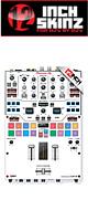 12inch SKINZ / Pioneer DJM-S9 SKINZ (WHITE/BLACK) 【DJM-S9用スキン】