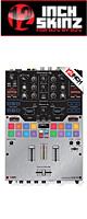 ■ご予約受付■ 12inch SKINZ / Pioneer DJM-S9 SKINZ Metallics (BRUSHED SILVER) - 【DJM-S9用スキン】