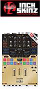 12inch SKINZ / Pioneer DJM-S9 SKINZ Metallics (BRUSHED GOLD) - 【DJM-S9用スキン】