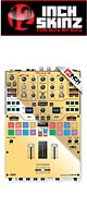 ■ご予約受付■ 12inch SKINZ / Pioneer DJM-S9 SKINZ Metallics (MIRROR GOLD) - 【DJM-S9用スキン】