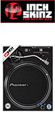 12inch SKINZ / Pioneer PLX-1000 SKINZ (PAIR / 2枚) (BLACK) 【PLX-1000用スキン】
