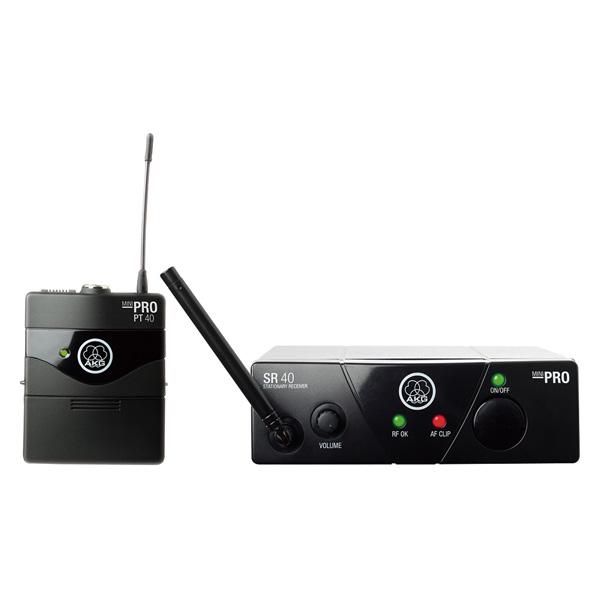 AKG(アーカーゲー) / WMS40 PRO MINI INSTRUMENTAL SET(JP1) - ワイヤレスマイク - 【受信機とボディーパック型送信機のセット】