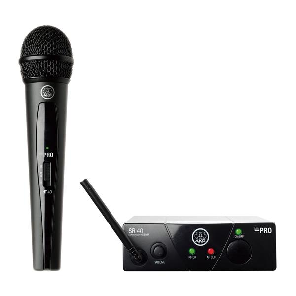 AKG(アーカーゲー) / WMS40 PRO MINI VOCAL SET(JP1) - ワイヤレスマイク - 【受信機とハンドヘルド型送信機のセット】