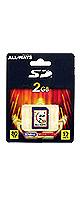 【爆安SDメモリーカード】 ALL-WAYS(オールウェイズ) / E-SD2-AW 【SDカード2GB】