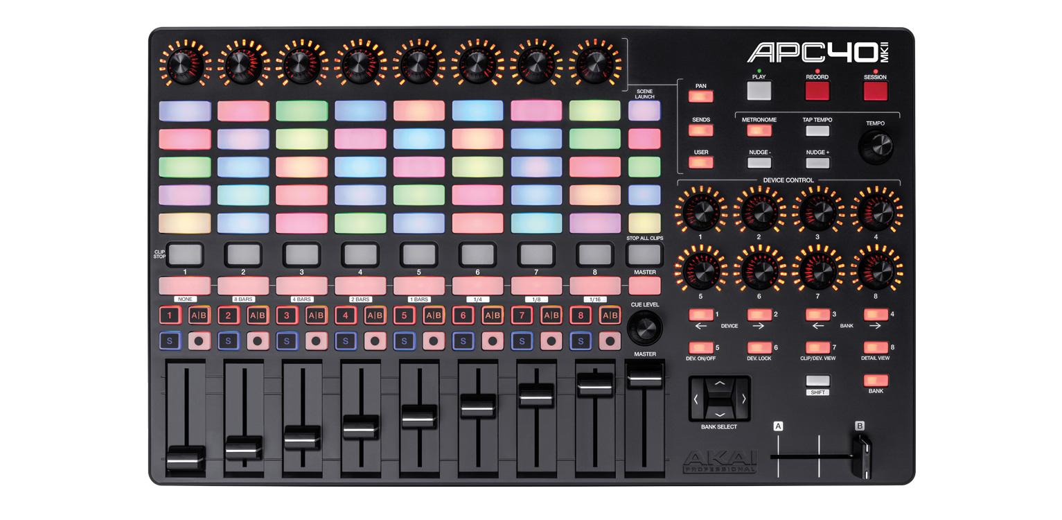 【限定1台】Akai(アカイ) / APC40 MK2 (Ableton Live Lite付属) 【数量限定 バッグ付き】の商品レビュー評価はこちら