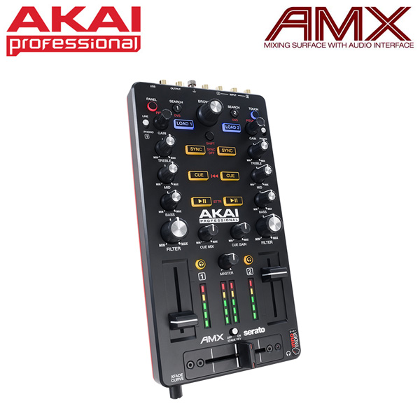 Akai(アカイ) / AMX 【Serato DJ付属 DJコントローラー】 2大特典セット