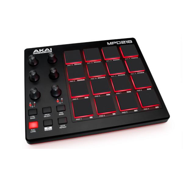 Akai(アカイ) /  MPD218  -パッドコントローラ- - 1大特典セット