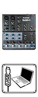 Alesis(アレシス) / MultiMix 6 USB - ミキサー -