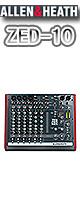 Allen&Heath(アレンアンドヒース) / ZED-10 【USB端子搭載・アナログミキサー】