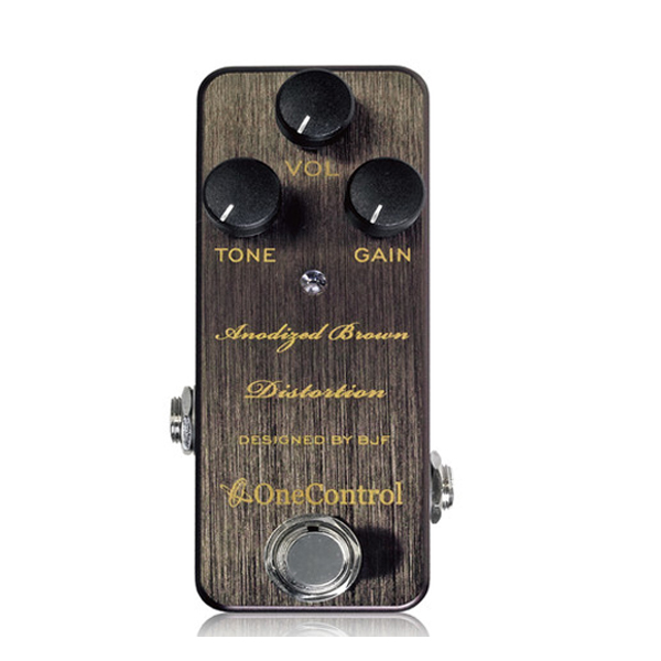One Control(ワンコントロール) / Anodized Brown Distortion- - オーバードライブー  《ギターエフェクター》