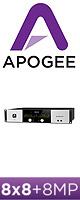Apogee(アポジー) / Symphony I/O 8X8+8MP (8x8 Analog I/O + 8x8 AES/Optical I/O + 8 Mic Preamps)  - モジュラー式マルチ・チャンネル・オーディオ・インターフェイス - ■限定セット内容■→ 【・OAタップ 】