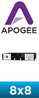 Apogee(アポジー) / Symphony I/O 8X8 (8x8 Analog I/O + 8x8 AES/Optical I/O)  - モジュラー式マルチ・チャンネル・オーディオ・インターフェイス - ■限定セット内容■→ 【・OAタップ 】