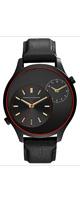 Armani Exchange (アルマーニ エクスチェンジ) / Men's AX2168 Black Leather Watch -メンズ腕時計 -