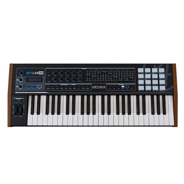 Arturia(アートリア) / KEYLAB 49 Black Edition 【ソフトシンセ ANALOG LAB付属】 - 49鍵MIDIキーボード -