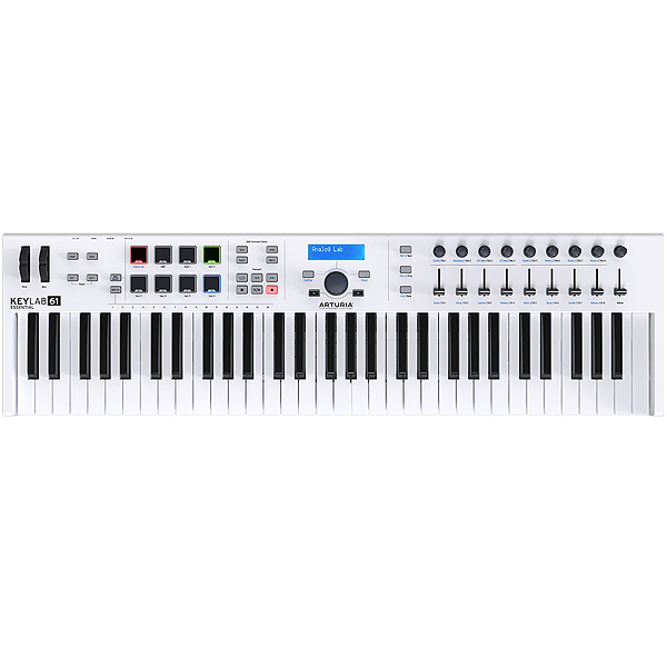 Arturia(アートリア) / KeyLab Essential 61 -61鍵MIDIキーボード-【Analog Lab・Ableton Live Lite付属】